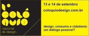 1º Colóquio Nacional de Design
