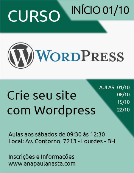 Curso de Wordpress em Belo Horizonte